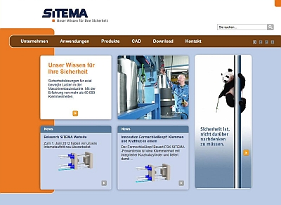 Neue SITEMA Website