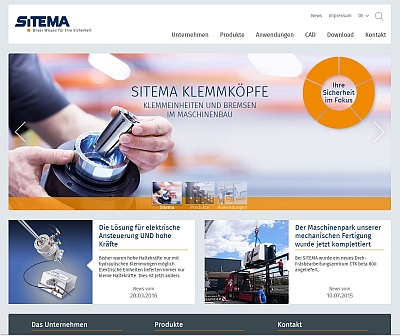 Neue SITEMA-Website